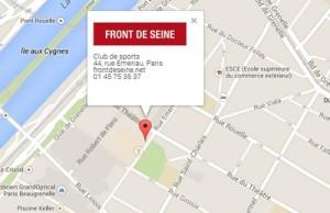 club de sport Paris Front de Seine