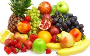 le sport et les fruits